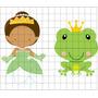 2 Vetores E Imagens Princesa Tiana E O Sapo Cute