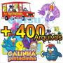 Vetores E Imagens Galinha Pintadinha, Cdr, Png, Jpg + Brinde