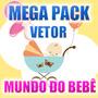 Coleção Vetores Baby - Só Tema Infantil - Download + Brindes