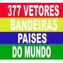 377 Vetores Bandeiras Do Mundo