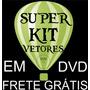 Dvd Vetores+estampas+cartões+logomarcas+anime Corel Draw