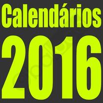 Calendários 2016 Png Molduras Mascaras Digiatais Fotos Artes