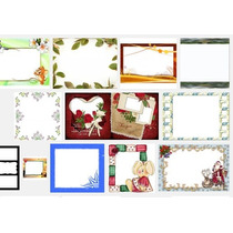 Molduras Diversas Montagens De Fotos Basta Arrastar A Foto