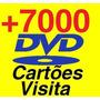 7mil Cartões De Visita Convites + Imãs + Folders + Molduras