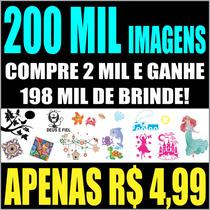 Imagens Vetorizadas 200.000 Vetor Frete Gratis - Silhouette