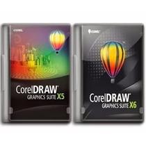 Coreldraw X5 X6 32/64 Bits Português Com Vetores E Curso