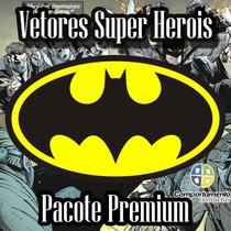 Vetores Super Herois Pacote Premium Para Corel Draw