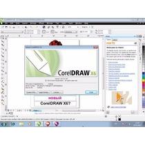 Coreldraw X6 32/64 Bits Português Com Vetores E Curso