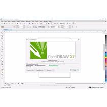 Coreldraw X6 X7 32/64 Bits Português Com Vetores E Curso