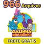 966 Vetores Imagens Galinha Pintadinha + Brinde