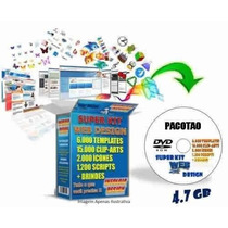 Super Kit Web Design 5000 Modelos De Sites Editáveis + Extra
