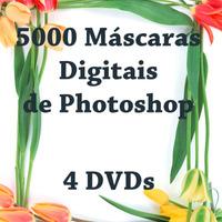 5000 Máscaras De Photoshop - 4 Dvds