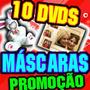 10 Dvds Máscaras Digitais Profissional Em Camadas+calendário