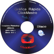 Templates Adobe Photoshop Editáveis P/ Capa E Disco Dvd