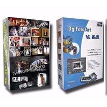 Templates Para Dg Foto Art Galleria Album Casamento + Dg 5.2