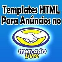 Template Editavel Html P/ Anuncio Mercado Livre Profissional