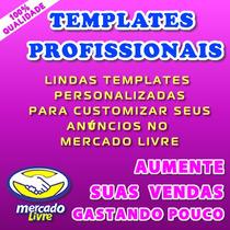 12 Templates Html - P/anúncio No Mercado Livre-fácil Ediçâo