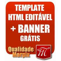 Template Editavel Personalizado Ml Profissional Banner Logo