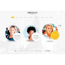 Template Site Wordpress Para Advogados E Negócios Simples