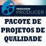 Pacote Projetos Proshow Producer