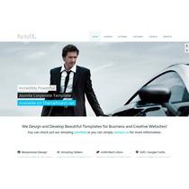 Template Site Joomla Corporativo Para Empresas E Negócios