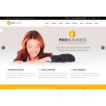 Template Site Wordpress Moderno Para Empresas E Negócios