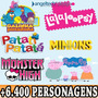 Dvd Lalaloopsy Patati Patata Monster High Galinha Pintadinha