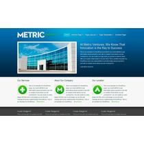 Template Site Wordpress Para Negócios