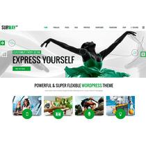 Template Site Wordpress Para Empresas Multiuso C\ Loja