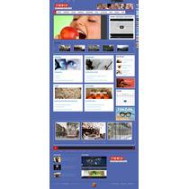 Template Portal De Notícias (php) Em Joomla Responsivo
