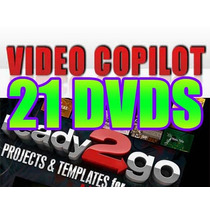 Video Copilot + Projetos Editáveis Juice After Effects Vegas