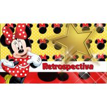 Projeto Proshow Producer - Tema Minnie Vermelha 76 Fotos