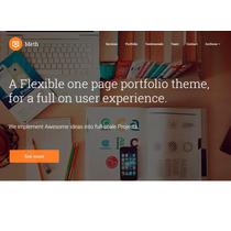 Template Site Wordpress Para Agências E Designers