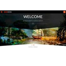Template Site Wordpress Para Agências E Designers Onepage