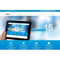 Template Html5 Para Empresas Negócios Loja Responsivo Tema
