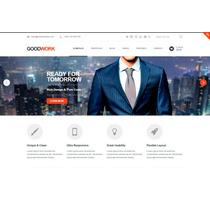 Template Site Wordpress Para Empresas E Negócios Moderno
