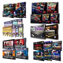 35 Volumes De Projetos Editáveis, Cenários,vinhetas Em Hd