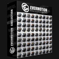 Evermotion Blocos 3d - Pacote Archmodels 01 Ao 149 - 11 Dvds
