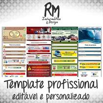 Template Editável Personalizado P/ Mercado Livre / To