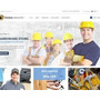 Tema Industry Loja Virtual Materiais De Construção Wordpress