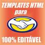 Template Profissional Mercado Livre Html Editavel Facil