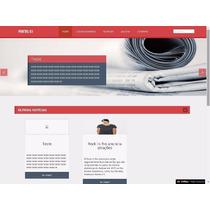 Site Script Php Institucional Empresa Comércio Adminsitravél