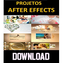 2500 Projetos Templates Adobe After Effects Videos Editaveis