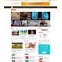 Tema Portal De Noticias 2015 Wordpress Responsivo