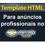 Template Mercado Livre Com Logomarca Logo Ou Logotipo