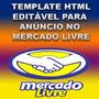 Template Anúncio Editável Html Profissional Mercadolivre