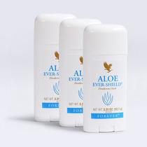 Kit De 3 Desodorantes Aloe Ever Shield Forever Frete Grátis!