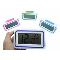 Relógio Despertador Digital Alarme Fala Hora Por Voz K-9905