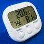Relógio Digital Termômetro Higrômetro - Frete Grátis