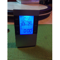 Relogio Despertador, Termometro, Higrometro E Calendario